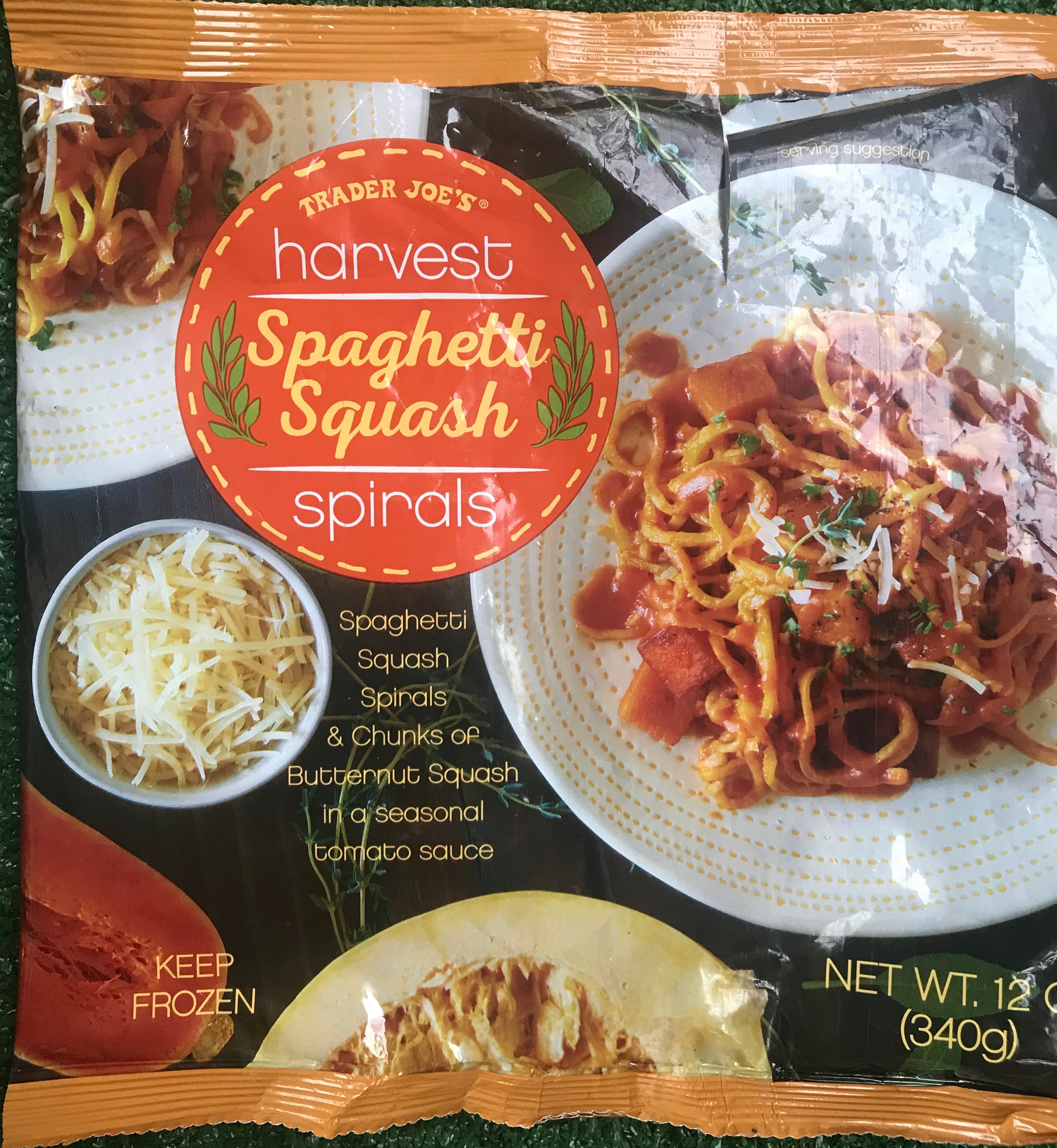 Premise Indicator Words: Harvest Spaghetti Squash Spirals...The Frozen Trader Joe's