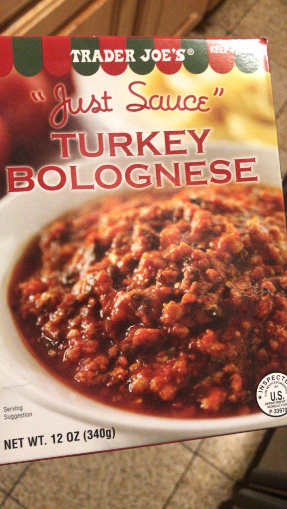 Turkey Bolognese The Frozen Trader Joe S Version Vs The Homemade Version Steps 2 Nutrition